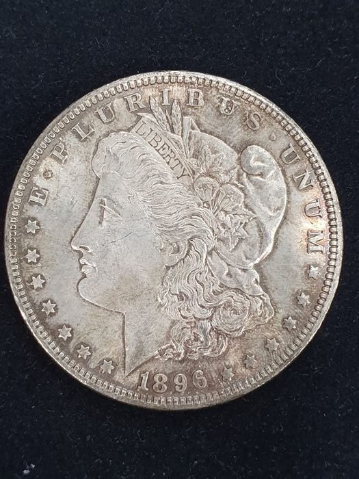 United States. Morgan Dollar 1896