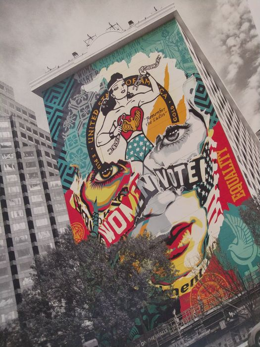 Image 2 of Shepard Fairey (OBEY) et Sandra Chevrier - The beauty of liberty and equality