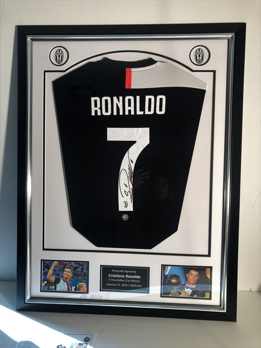 Juventus - Europese voetbal competitie - Cristiano Ronaldo - 2020 - Jersey(s)