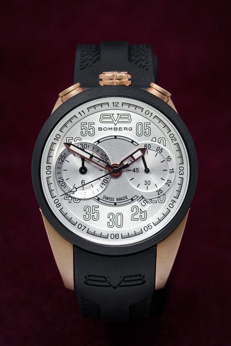 """Bomberg - 1968 Chronograph Collection""""NO RESERVE PRICE"""" - NS39CHTT.0075.2 - Unisex - New"""