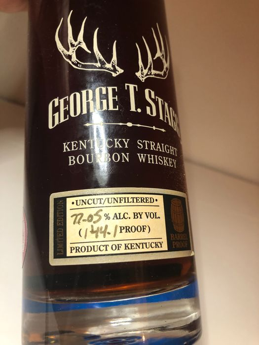 George T. Stagg 144.1 proof - b. 2016 - 750ML