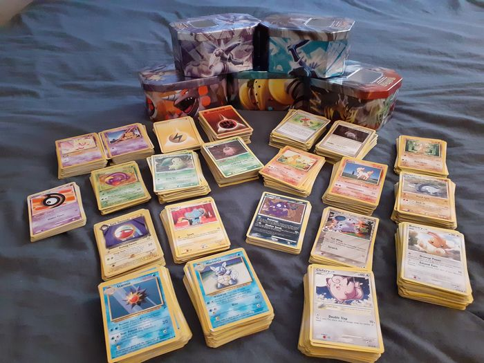 Gamefreak - Pokémon - Losse stickers 1011 Trading Cards from 1995 / 2009