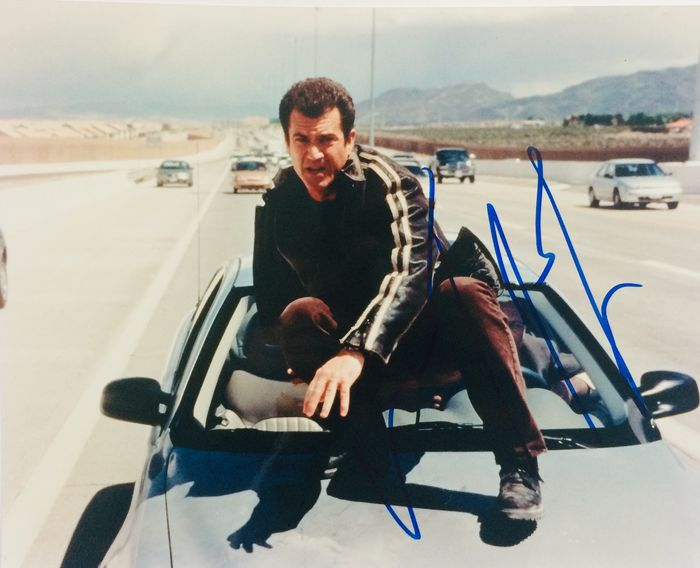 Lethal Weapon 3 - Mel Gibson (Martin Riggs) - Foto, Handtekening, Signed with COA