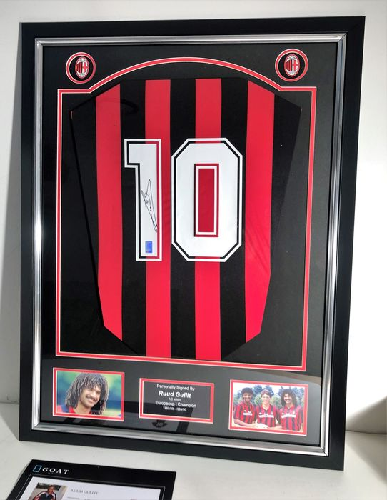 AC Milan - Europese voetbal competitie - Ruud Gullit - Jersey(s)