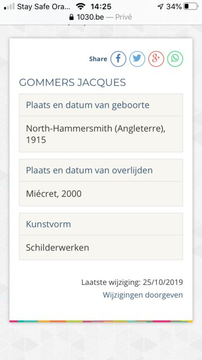 Jacques Gommers 1915 2000 Vlaamse Boer Met Hond Catawiki
