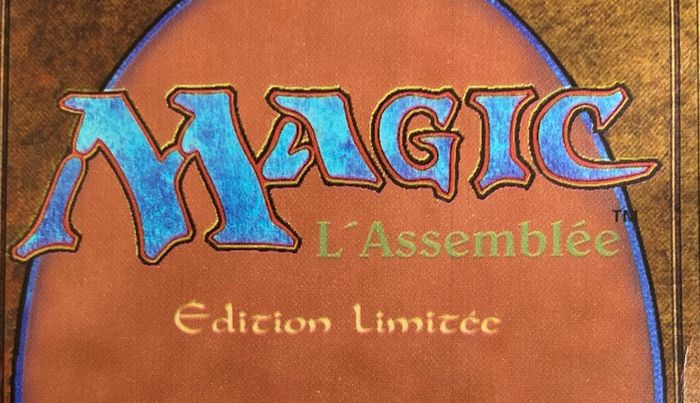 Wizards of the Coast - Magic: The Gathering - Booster Pack (ongeopend) French Limited Edition (Édition limitée), Black Bordered (FBB) - 1994