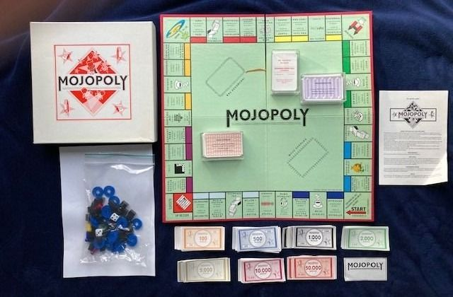 Mojopoly - Altenrative Monopoly baardgame by MOJO concerts - Baardgame - 1996