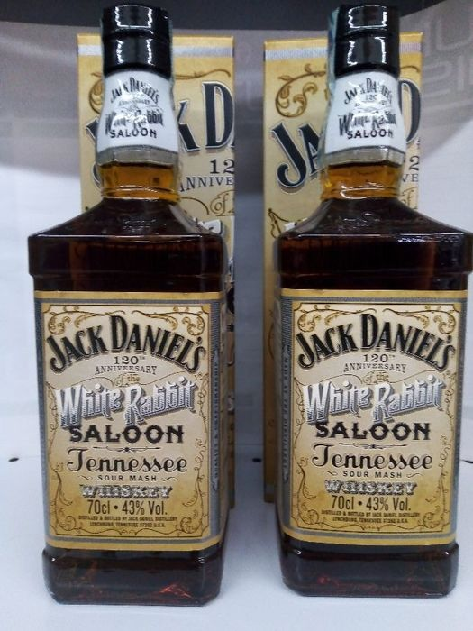 Jack Daniel's White Rabbit Saloon - 70cl - 2 flessen