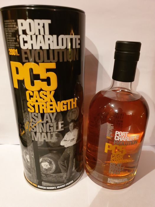 Port Charlotte PC5 - Original bottling - 70cl