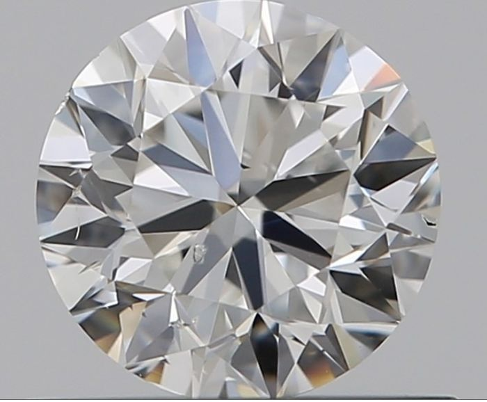 Diamant - 0.50 ct - Brillant - D (incolore) - SI1