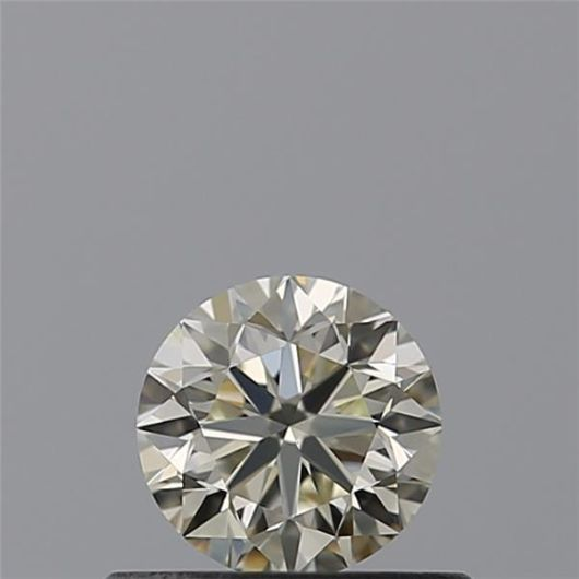 1 pcs Diamant - 0.40 ct - Brillant - N (teinté) - VVS1