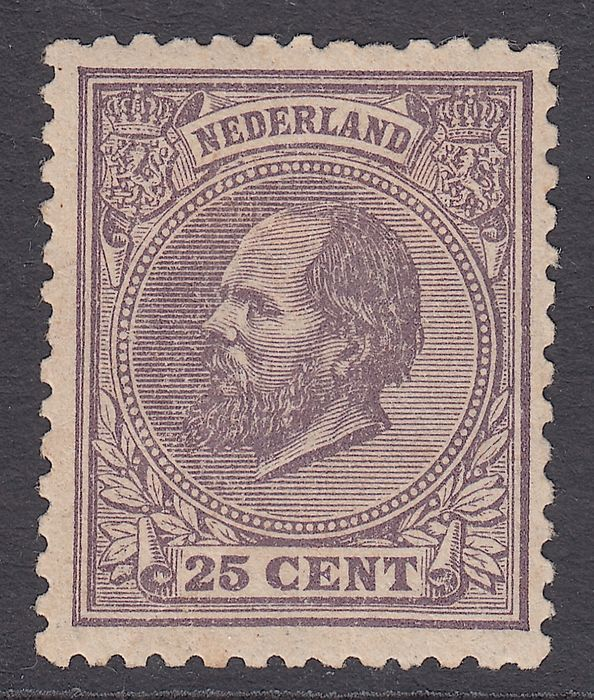 Niederlande 1884 - King Willem III - NVPH 26K