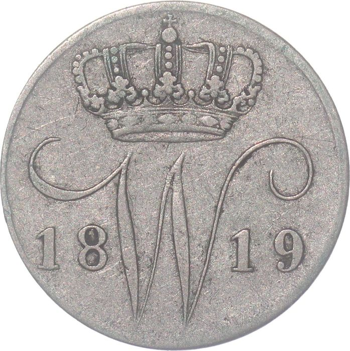Netherlands. 5 Cents 1819 Utrecht