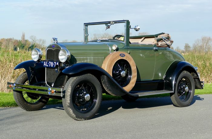 Ford - Model A Cabriolet - 1930