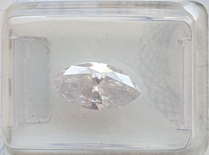 Diamante - 1.67 ct - Marquesita - G - I1, No Reserve Price
