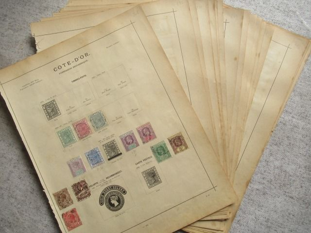 Britse Gemenebest - Collection of stamps