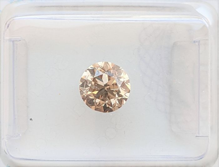 Diamante - 1.00 ct - Brillante - Fancy Champagne - VS2, No Reserve Price