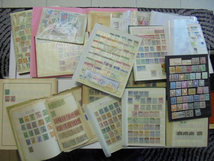 verschiedene Länder der Welt 1880/1970 - A huge bulk of stamps from various countries around the world - Yvert