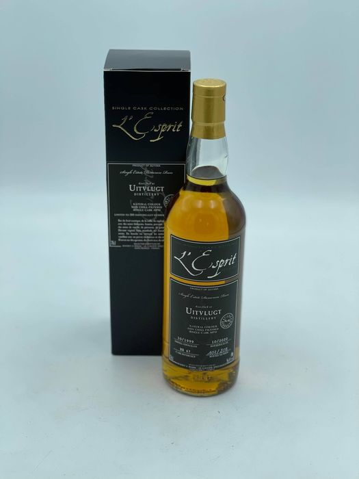 Uitvlugt 1999 21 years old L'Esprit - 10th Anniversary - 70cl