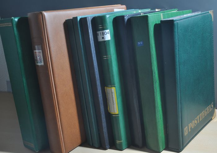 Weltthema - Batch in various albums and stock books