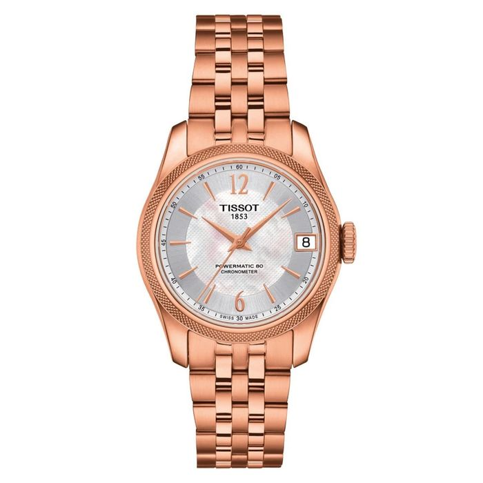 Tissot - T-Classic Ballade Powermatic 80 Rose Gold - T1082083311700 - Donna - Brand New