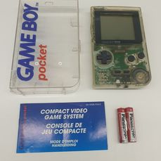 Nintendo Limited Edition MGB-01 1995 Rare Transparent SKELETON Edition Rare Hard Box Still with Nintendo Blue - Gameboy Pocket Limited Edition Transparent SKELETONVersion matching serial# - In Originalverpackung