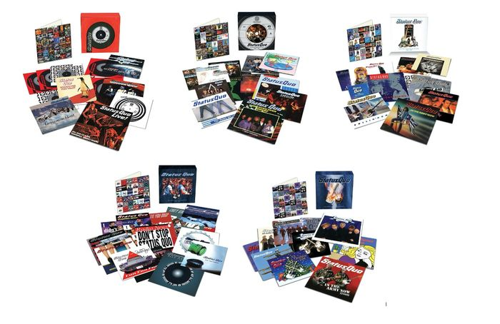 "Status Quo - The Vinyl Collection: 63 remastered unique 7"" singles box set - Diverse Titel - Box, Deluxe Edition, Limitierte Auflage, Limitiertes Box-Set - 2017/2019"