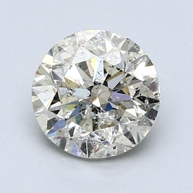 1 pcs Diamante - 1.50 ct - Redondo - I - SI3