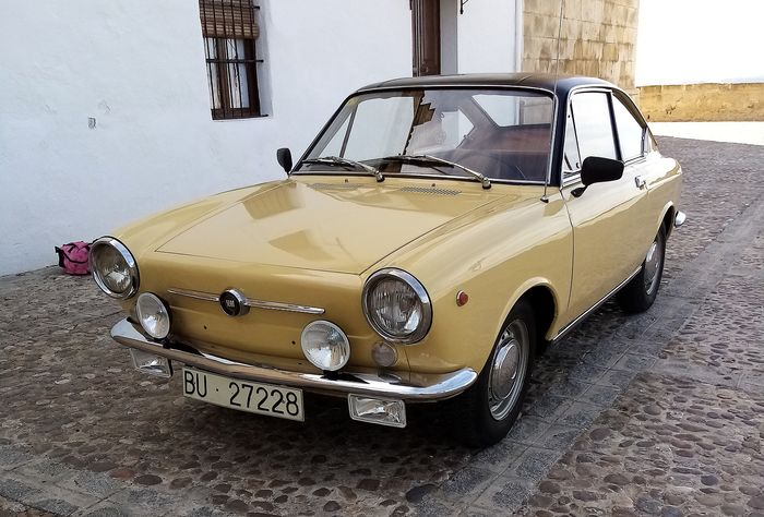 Seat - 850 Coupe - 1967