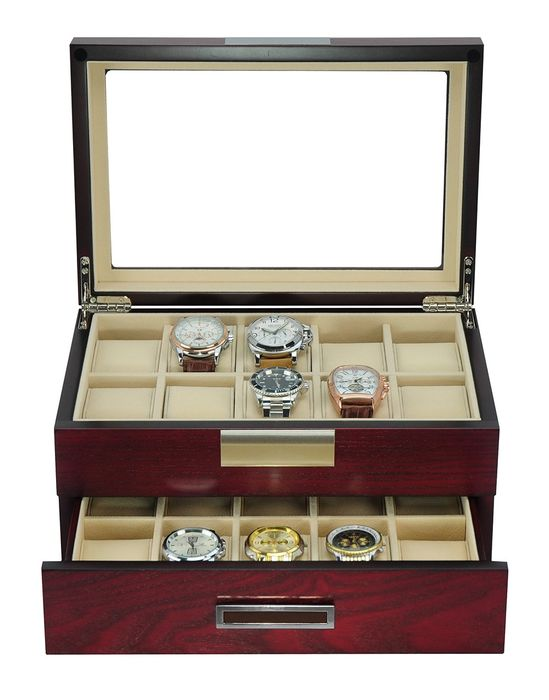 Luxurious - Display cabinet for 20 watches