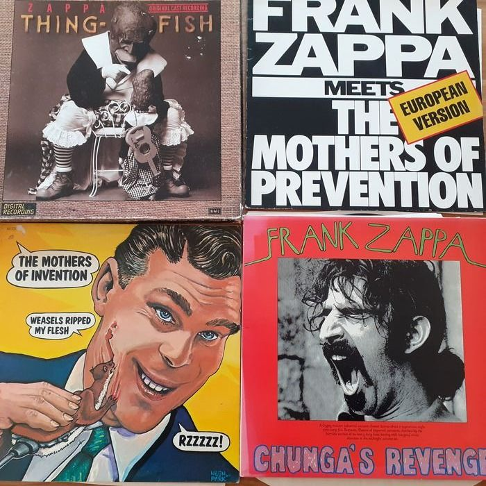 Frank Zappa (& The Mothers of Invention) - Diverse titels - LP Boxset, LP's - 1971/1986