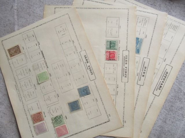 Britse Gemenebest - including Fiji, collection of stamps