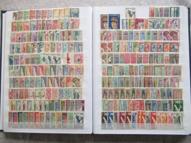 Ehemalige französische Kolonien - A very significant collection of stamps