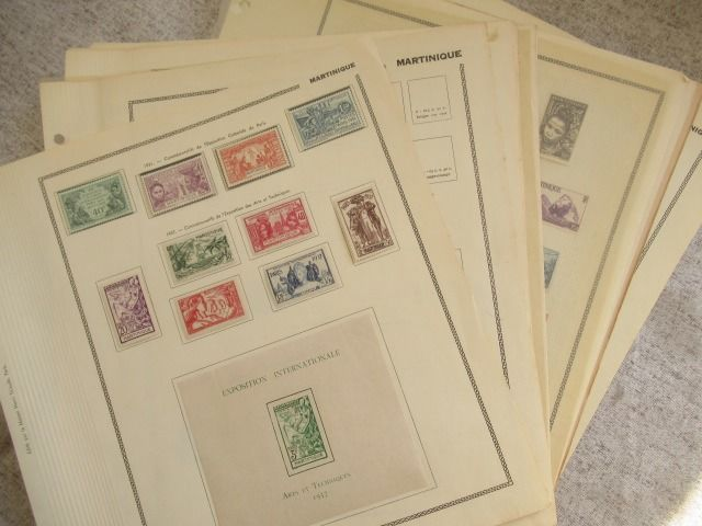 Martinique - Advanced collection of stamps