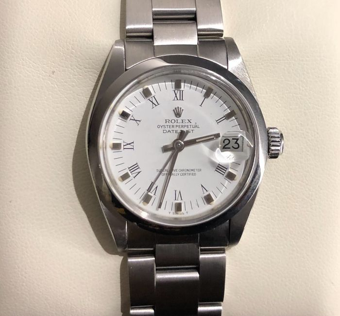 Rolex - Oyster Perpetual Datejust - 6824 - Mujer - 1980-1989
