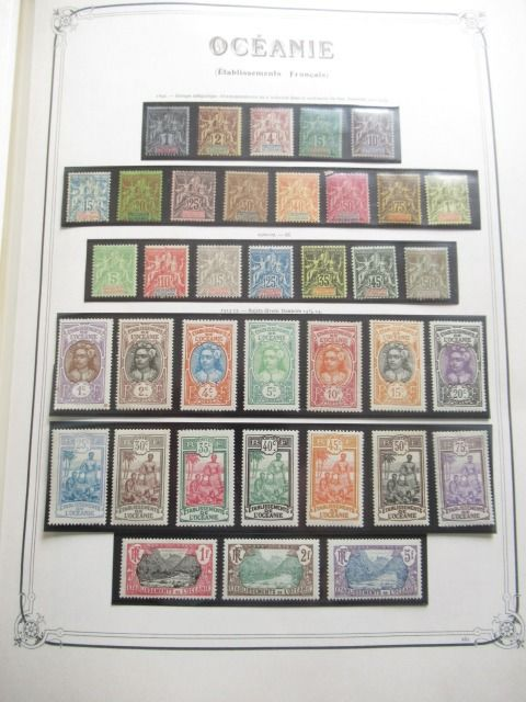 Polynesien und Ozeanien - Complete collection of stamps except for 1 stamp