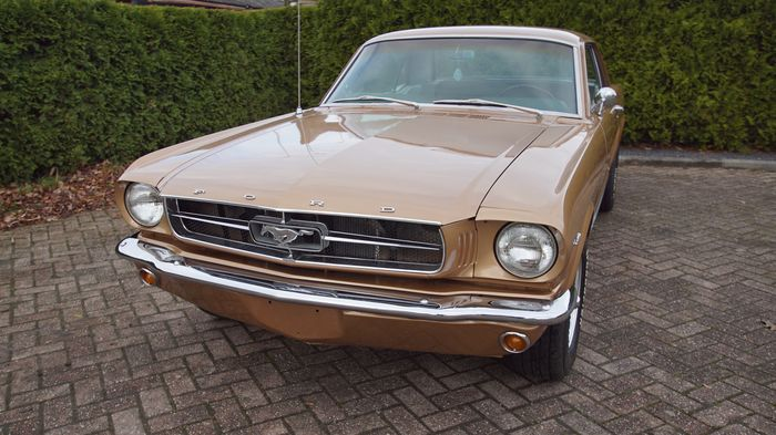 Ford - Mustang Hardtop Coupe V8 A CODE 4 SPEED! - 1965