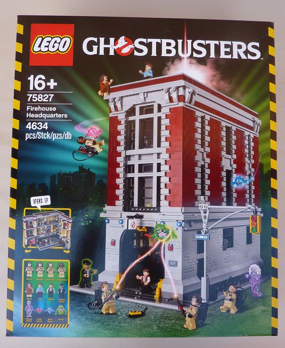 LEGO - Ghostbusters - 75827 - Gebouw Le QG des ghostbusters - 2000-present