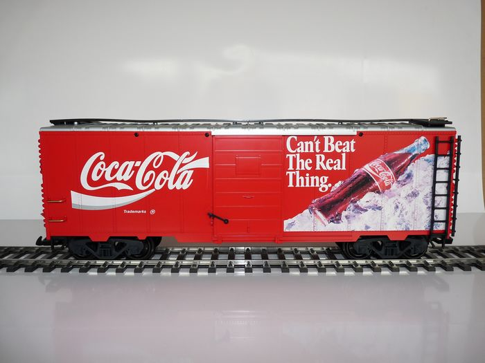 "Image 2 of LGB G - 42911 - Freight carriage - ""Coca Cola"""