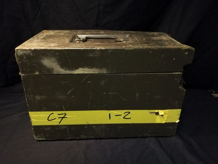 Pays-Bas - Box for rifle scope & PG-7PM Training Material - Fusil