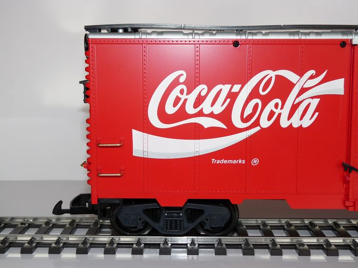 "Image 3 of LGB G - 42911 - Freight carriage - ""Coca Cola"""