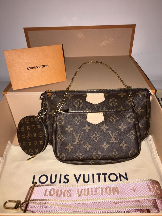 Louis Vuitton - Multi Pochette Accessoires Monogram Canvas - Bolso de mano