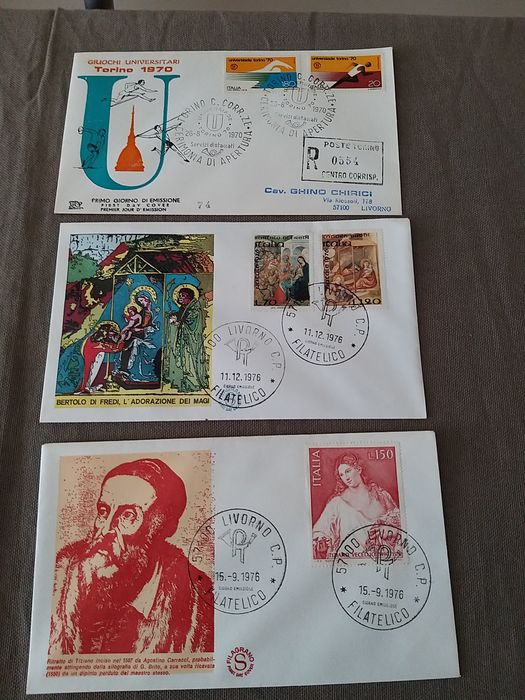 Lot 43113319 - Italian Stamps  -  Catawiki B.V. Weekly auction - Note the closing date of each lot
