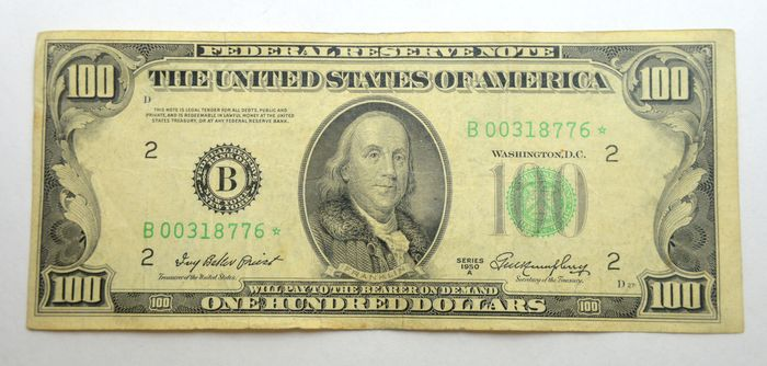 United States of America - 100 Dollars 1950A - Replacement / Star note - Pick 442a