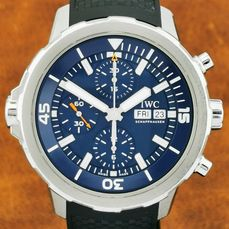 IWC - Aquatimer Chronograph Expedition Jacques-Yves Cousteau - Ref. IW3768 05 - Herren - 2011-heute