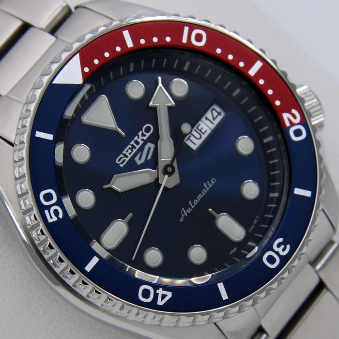 """Seiko - """"NO RESERVE PRICE"""" - 24 Jewels """"Pepsy Style"""" - - - Homme - 2020"""
