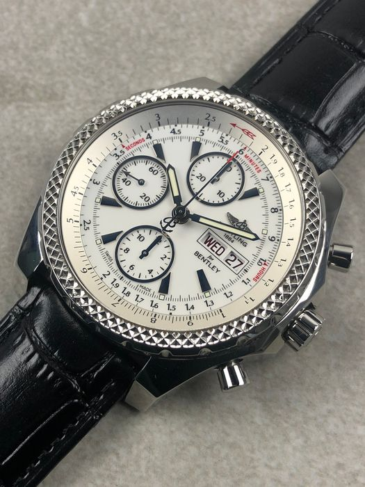 Breitling - Bentley GT Chronograph Automatic - A13362 - Heren - 2011-heden
