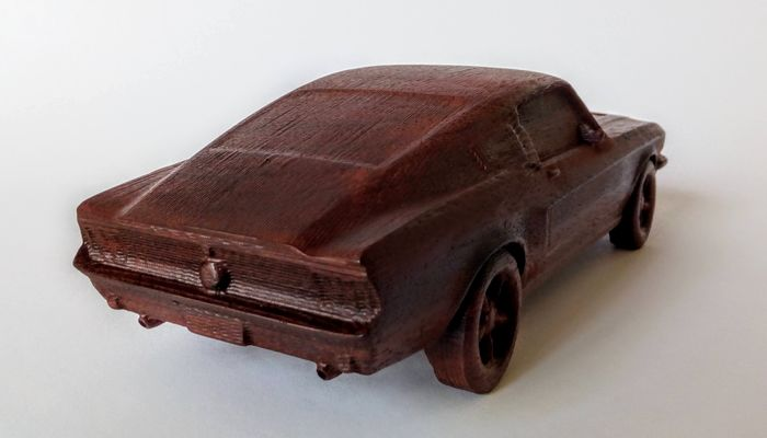 Miniaturas / Juguetes - FORD BULLIT 1967 - 1:16 - Gurrado automotive art