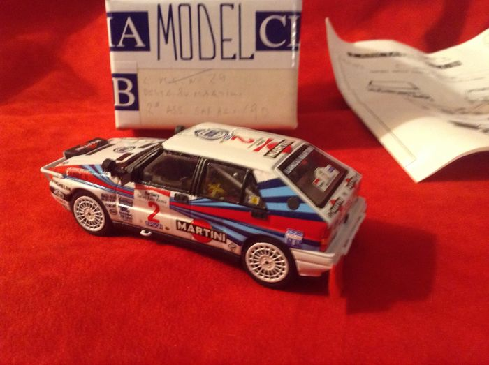 Preview of the first image of Racing 43 - made in Italy (special Lancia Model Club) - 1:43 - Lancia Delta HF Integrale 16V Team M.