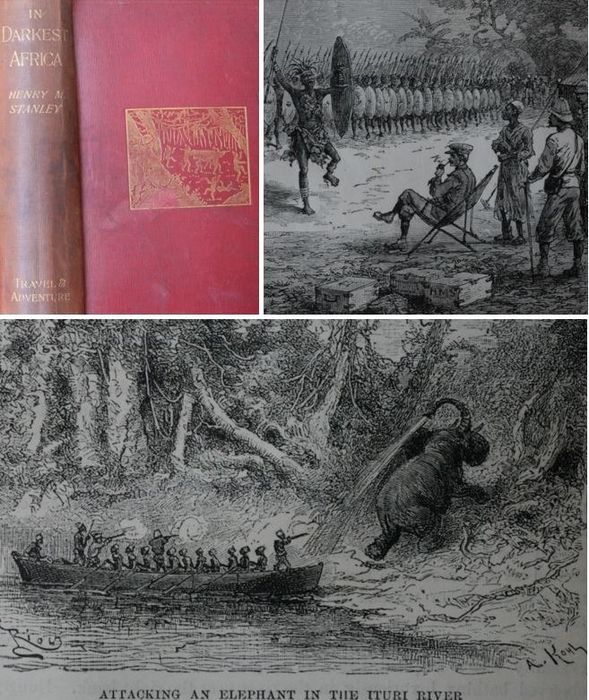 Henry M. Stanley - In Darkest Africa, or the quest rescue and retreat Of Emin, Governor of Equatoria - 1897